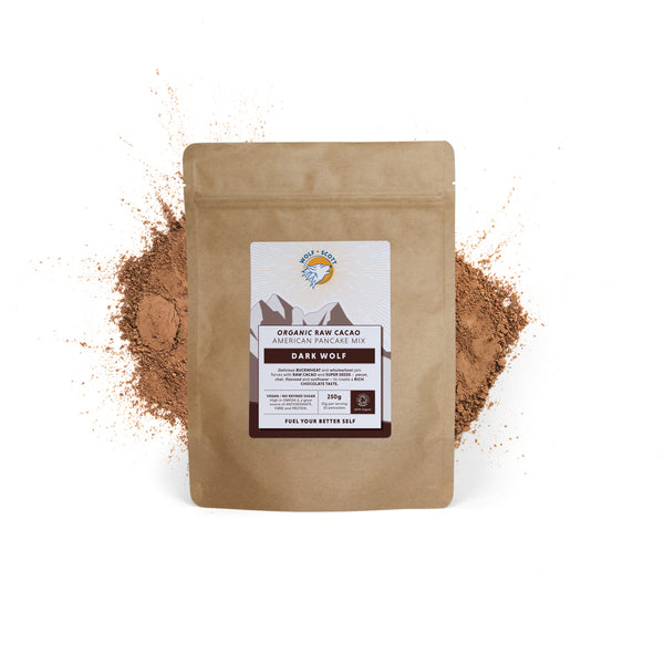Dark Wolf | Organic Raw Cacao Pancake Mix