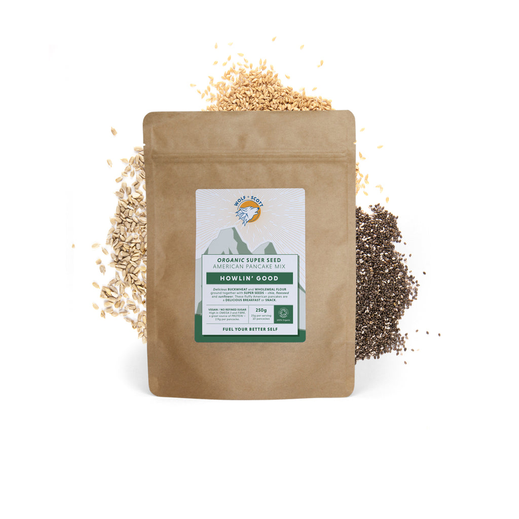 Howlin Good | Organic Super Seed Pancake Mix