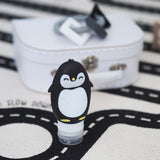 SILICONE PEGGY PENGUIN TRAVEL BOTTLES