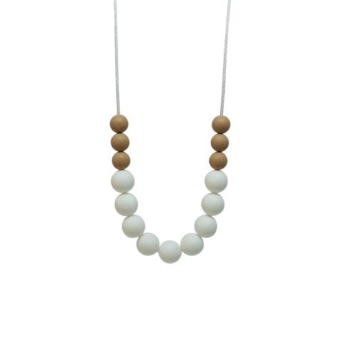 NECKLACE, BASIC TSHIRT - WHITE