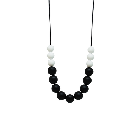 NECKLACE, BASIC TSHIRT - MONOCHROME