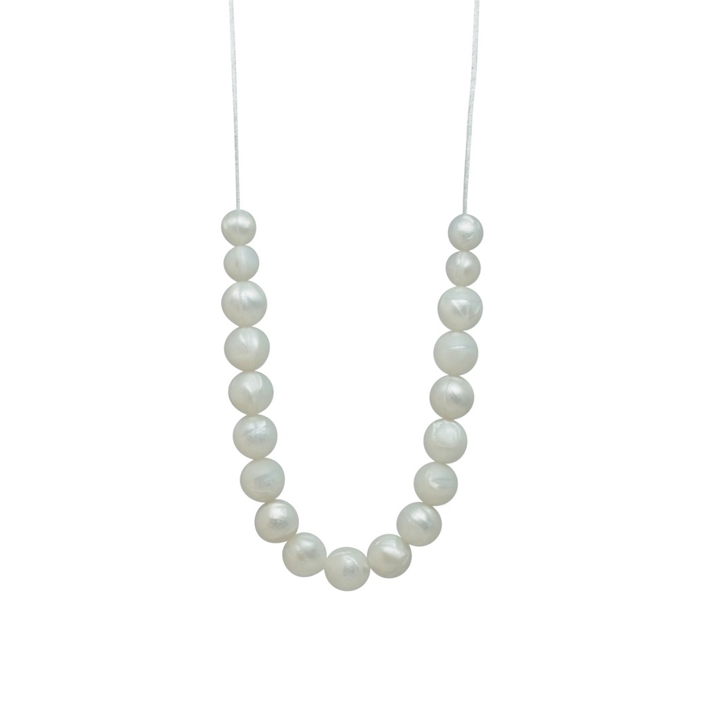 NECKLACE, STRING OF PEARLS