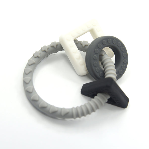 'GEO' TEETHING RING