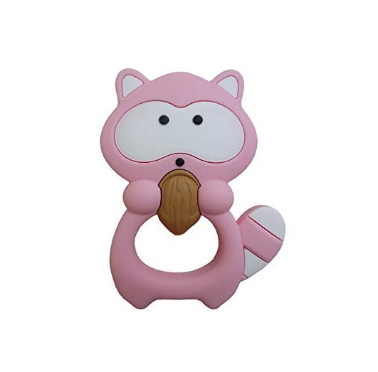 ROSIE RACCOON SILICONE TEETHING TOY