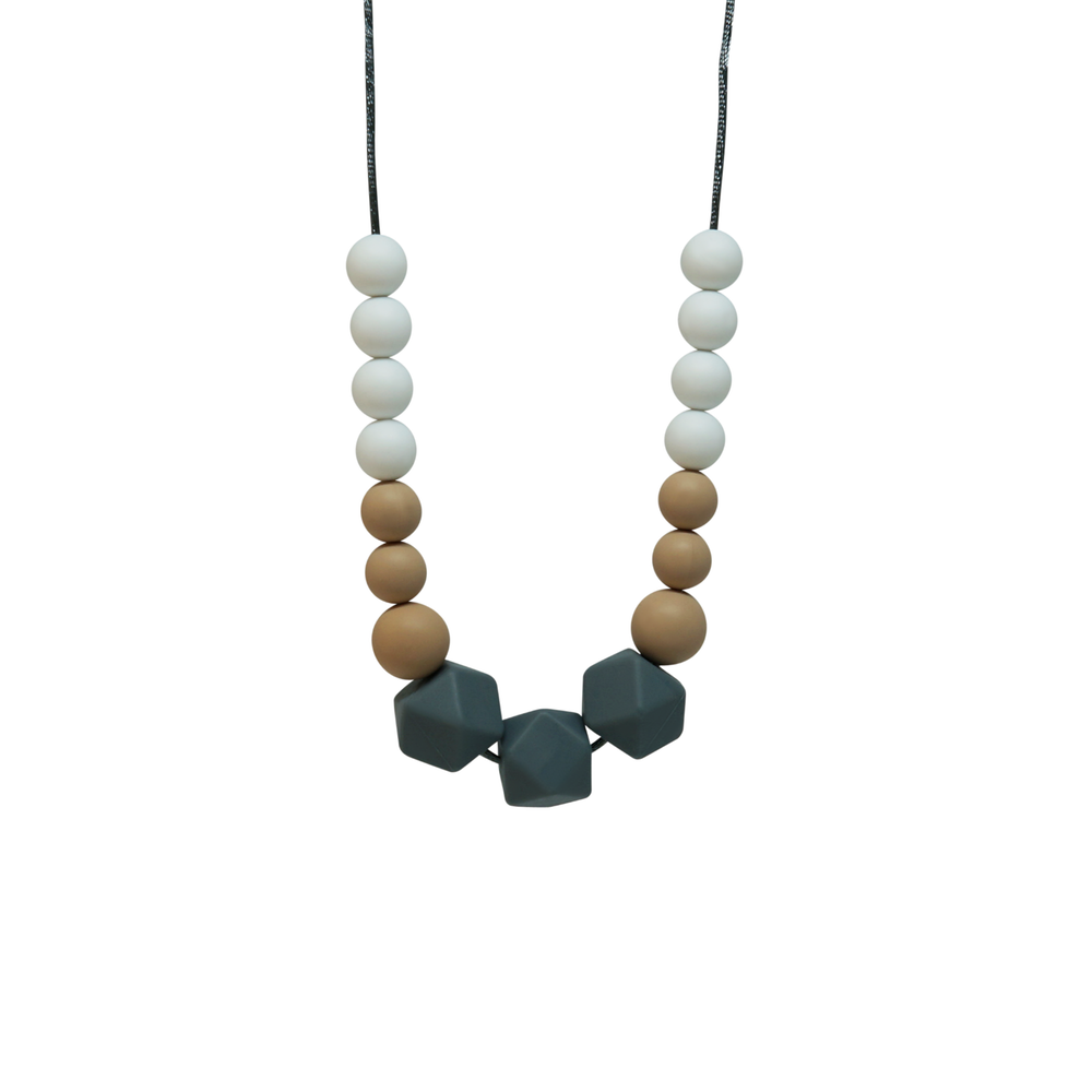 NECKLACE, SASS - GREY MARLE