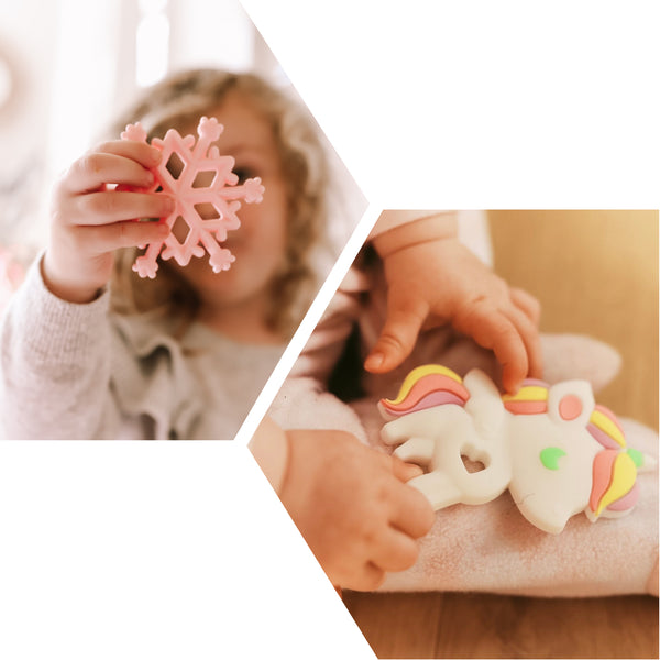 'LUCKY' TEETHING TOY SET (Pack of 2 Teethers)
