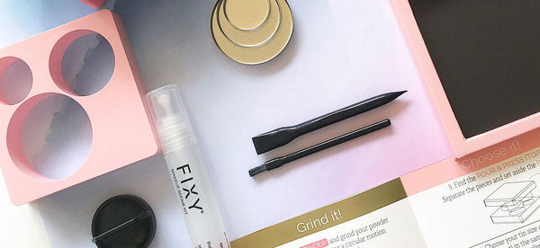How to use FIXY Makeup Repair Kit