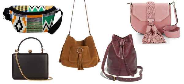 Fall handbags, bucket bags, fanny back