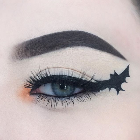 Bat Wing Makeup