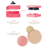 3 steps to fix broken makeup with FiXY, diy makeup kit