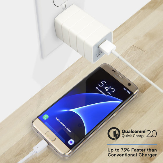 Lightning Quick Charger™ 2.0 with Micro USB Cable