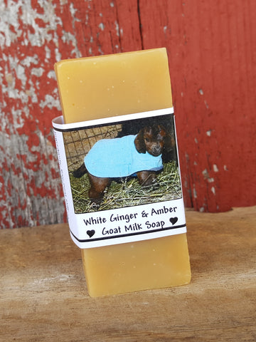 White Ginger & Amber Bar