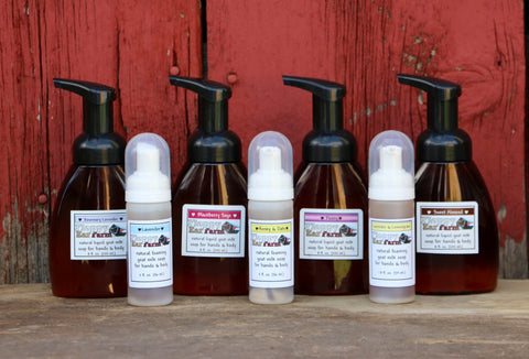 Goat Milk Foaming Liquid Soap