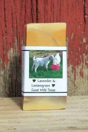 Lavender & Lemongrass Bar