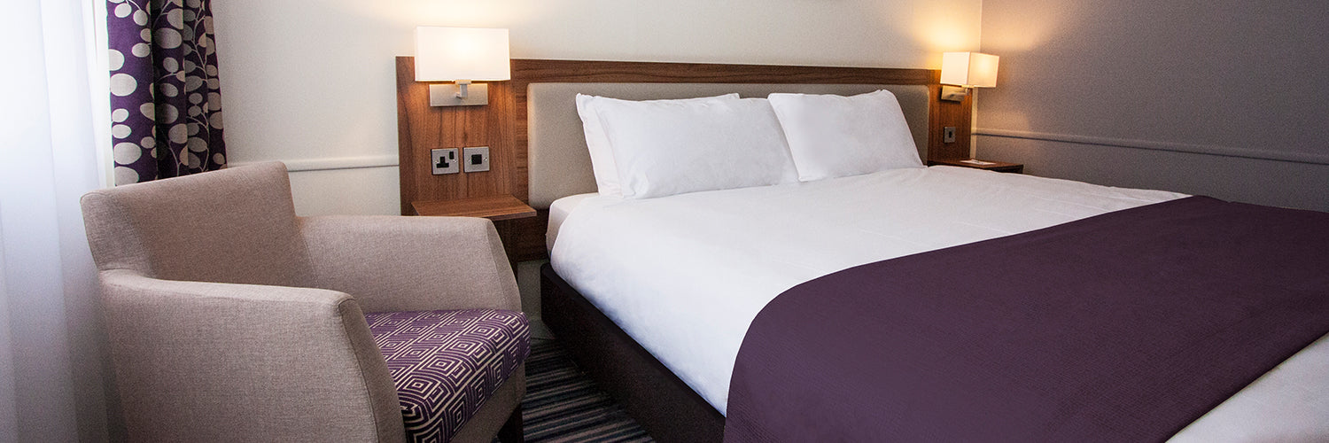purple hotel bedroom furniture