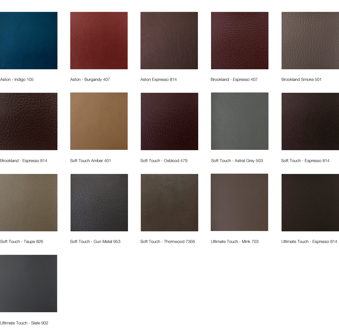 Lugo Fabrics - Faux Leather