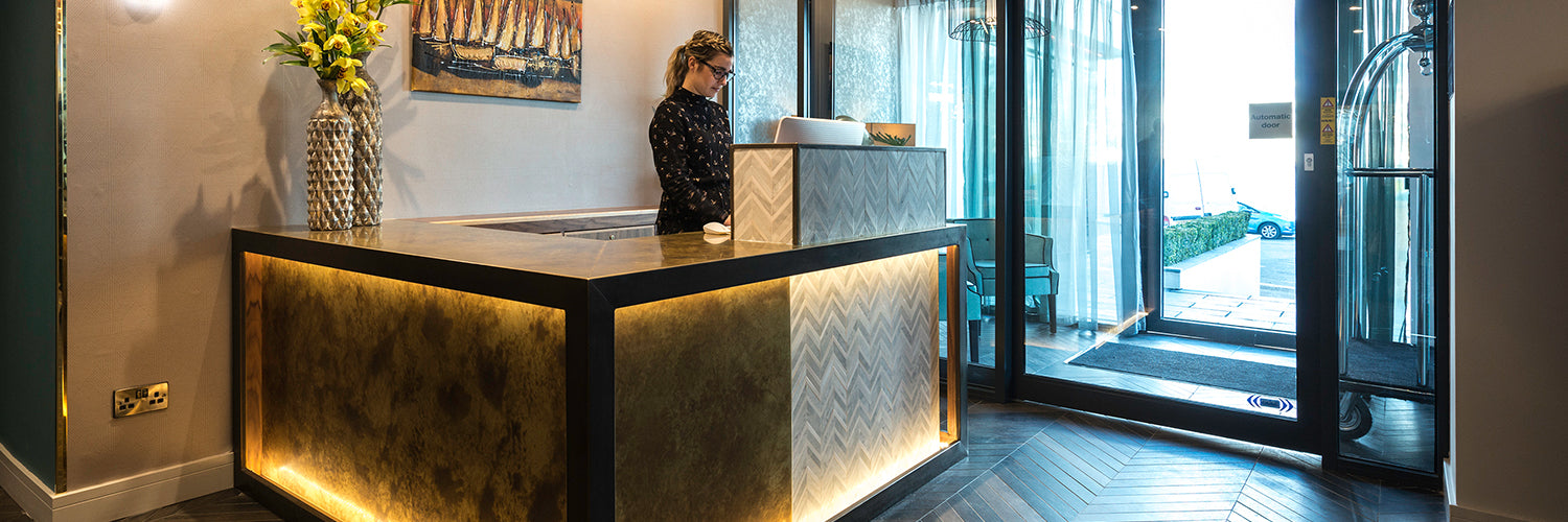 Seven Hotel Reception Desk