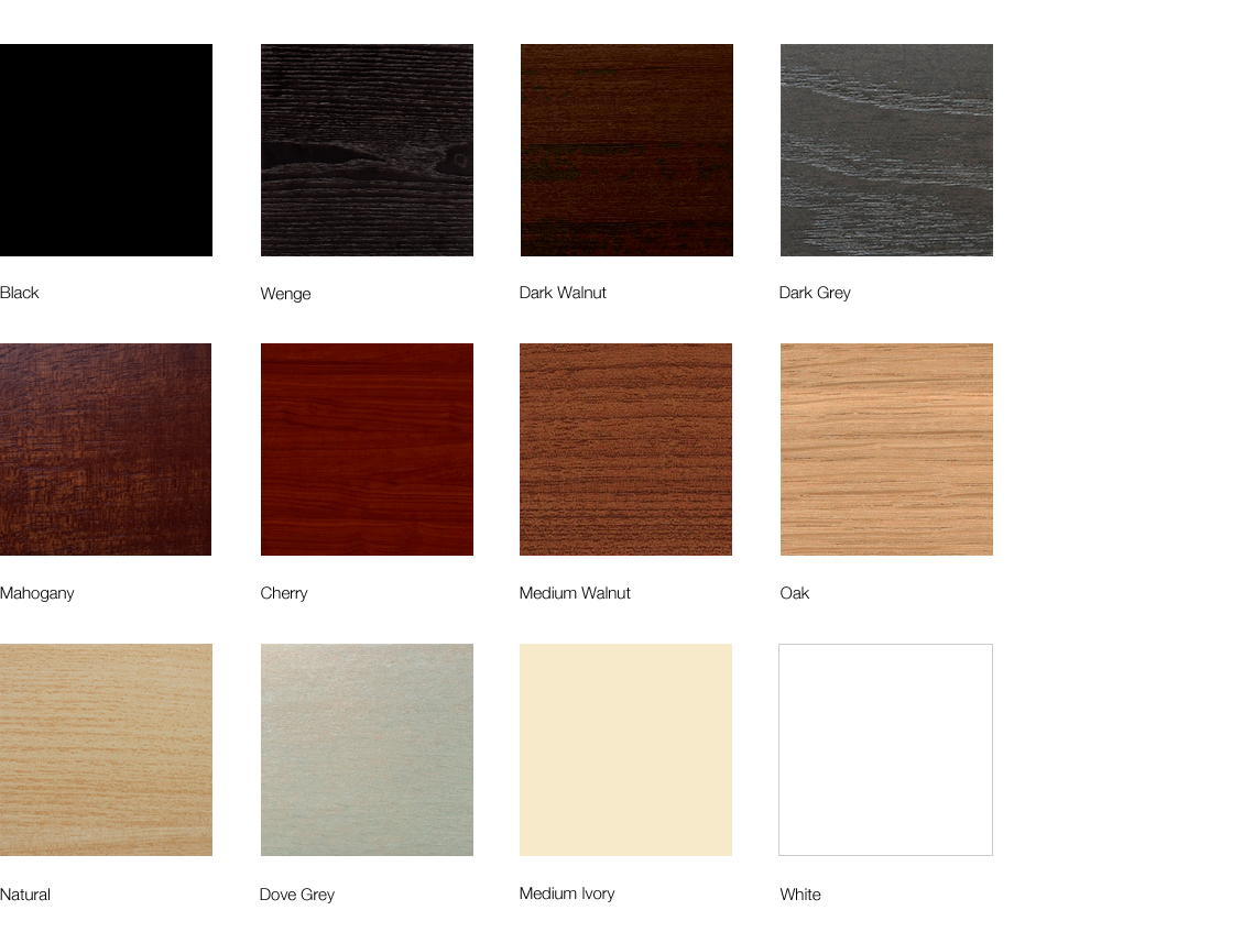 Lugo Wood Finishes