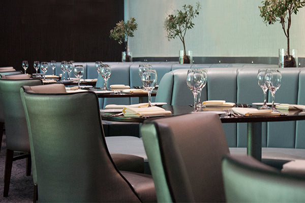 restaurant bench seating