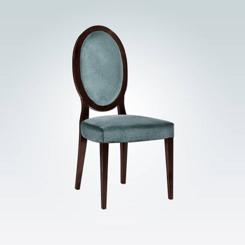 Alanis Striped Dining Chair with Oval Back 3038 RC1