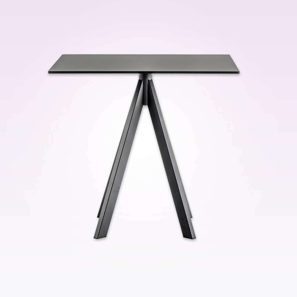 Arki-Base four leg steel dining table ARK4 CT2