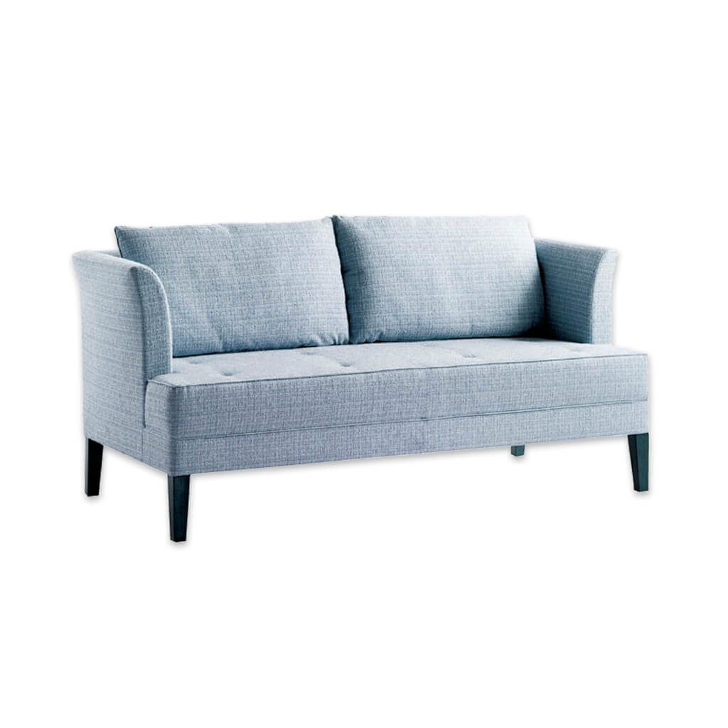 Chelsea light blue fabric sofa with removable cushions to the back and deep padded seat 8009 SF1 - Designers Image