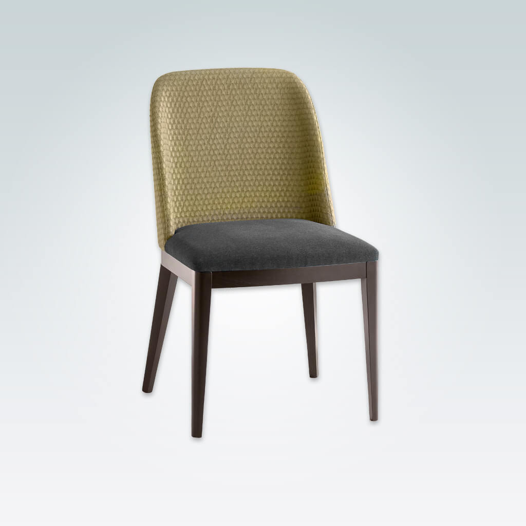 Gabi Turquoise Dining Chair Upholstered Back 3062 RC1