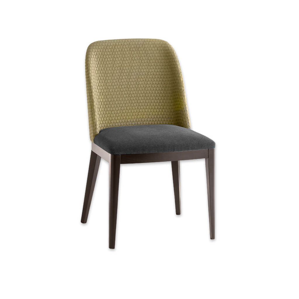 Gabi Turquoise Dining Chair Upholstered Back 3062 RC1 - Designers Image