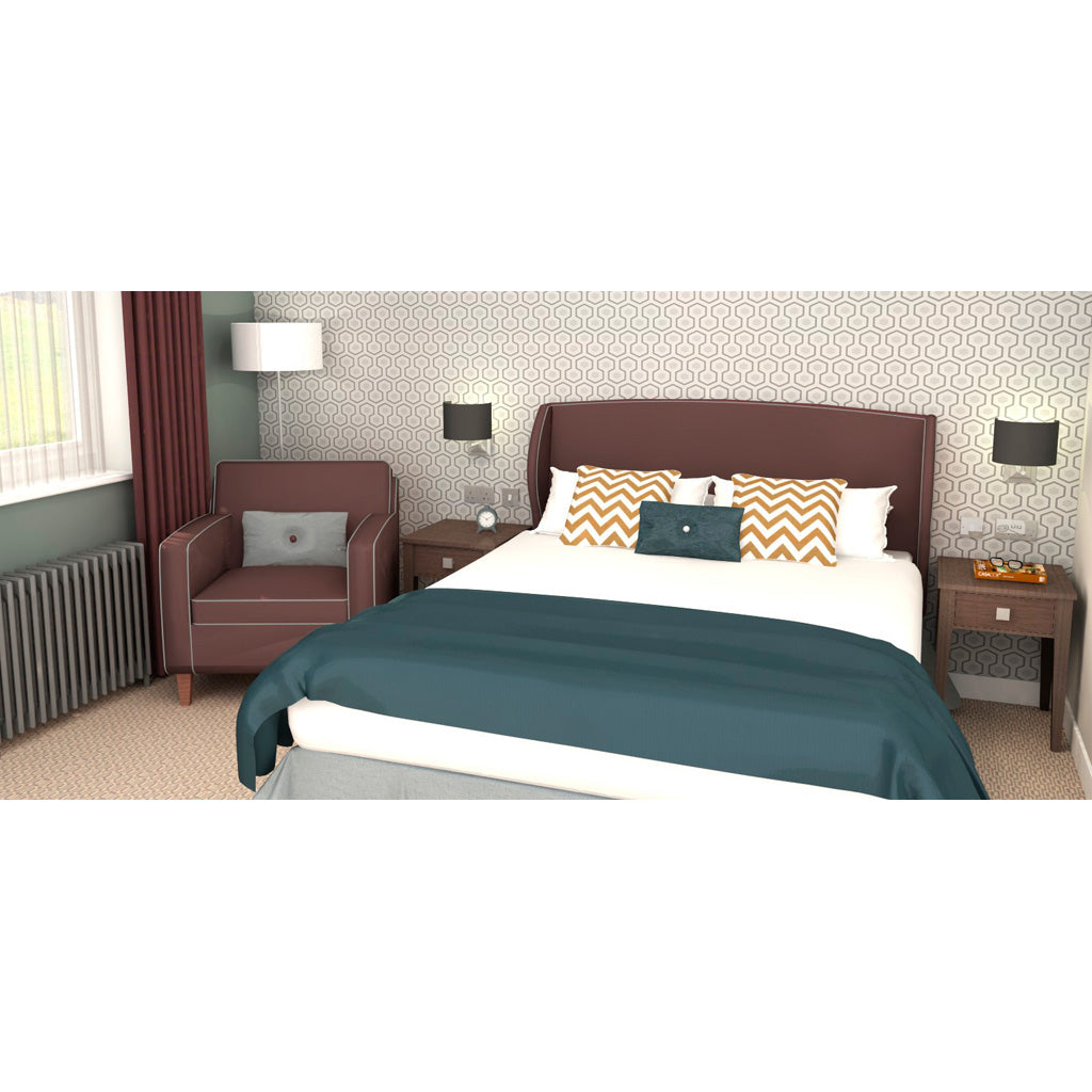 Haris Hotel Headboard 11002 - Room Set
