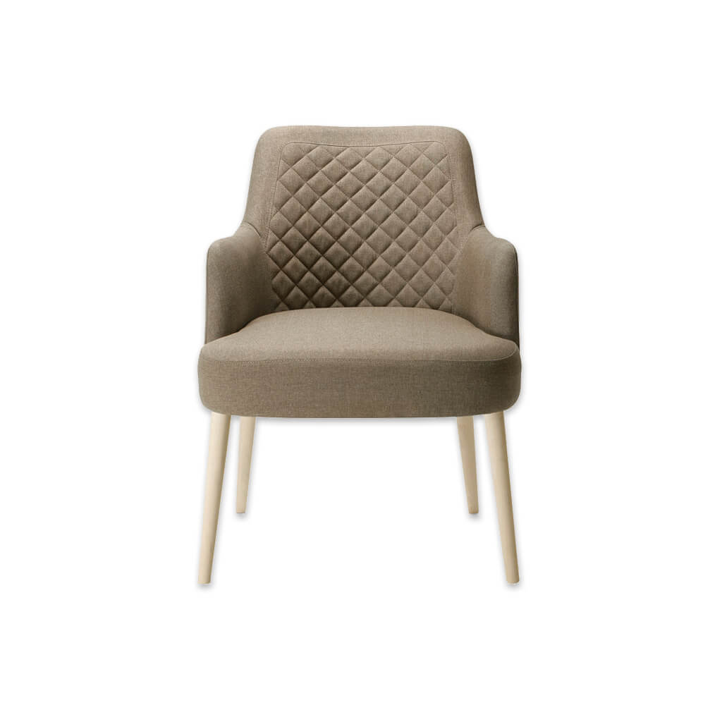 Matisse Fully Upholstered Tub Chair With Quilted Detail Backrest and Deep Padded Seat 2017 TC1 - Designers Image