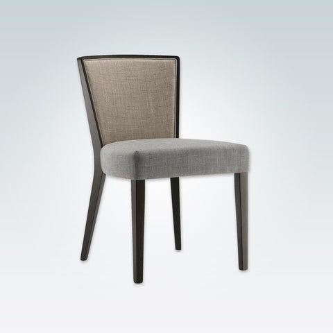 Octavia Light Grey Dining Chair with Curved Show Wood Back 3048 RC1
