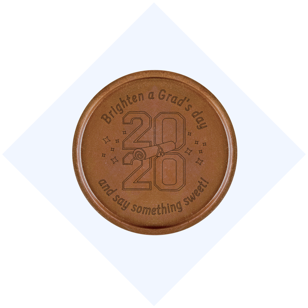 2020 Grad Chocolate Medallions - Box of 20