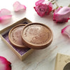 Be Mine Bouquet Personalized Chocolate Medallions - Box of 3