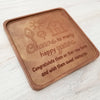 Cheers To Many Happy Years Personalized Chocolate Note