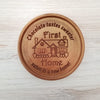 First Home Gift Personalized Chocolate Medallions - Box of 3