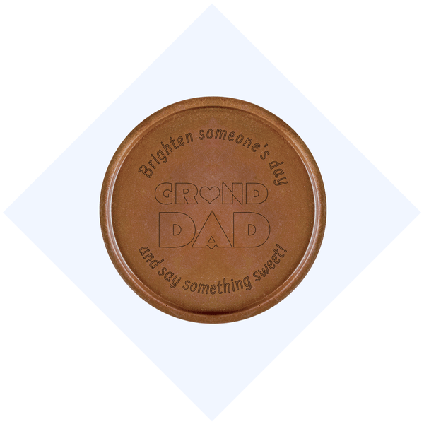 Grand Dad Chocolate Medallions - Box of 3