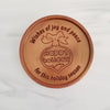 Happy Holidays Personalized Chocolate Medallions - Box of 3