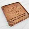 Happy New Year Personalized Chocolate Note