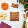 Happy Thanksgiving Personalized Chocolate Note