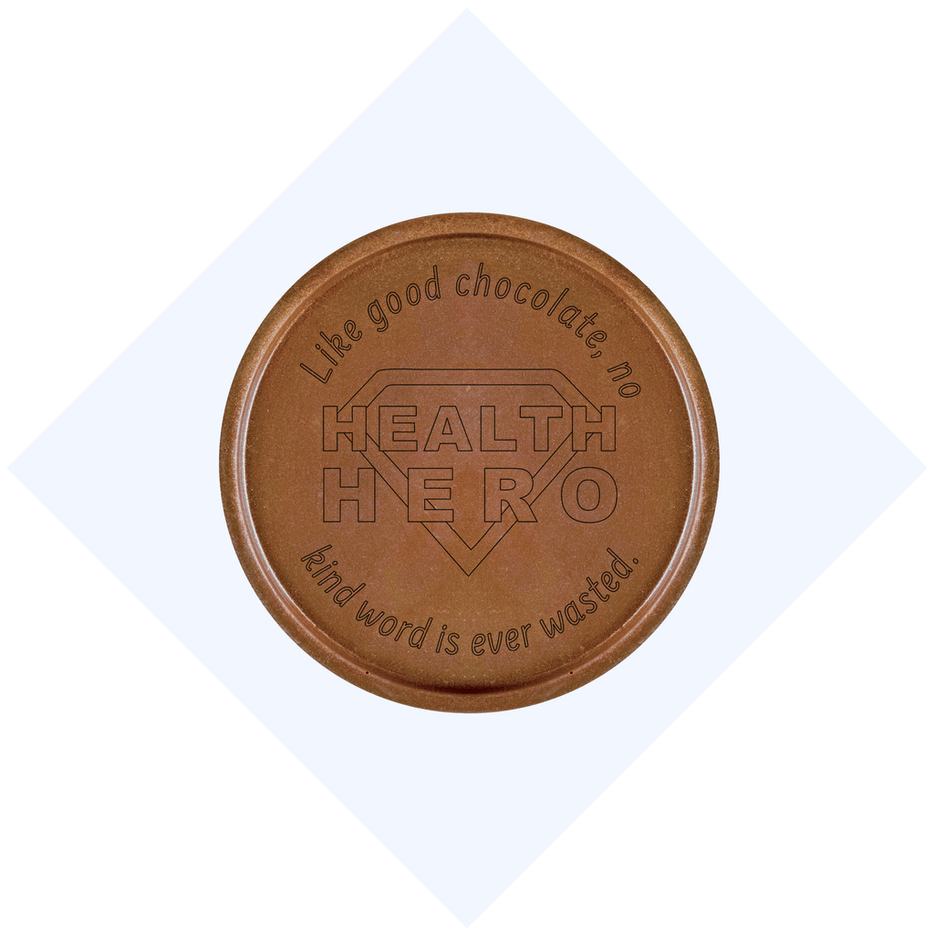 Health Hero Chocolate Medallions - Box of 3