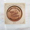 Home Sweet Home Personalized Chocolate Medallions - Box of 3
