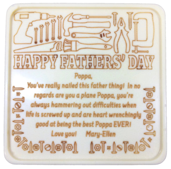 Father's Day Fix It Chocolate Card - Noteworthy Chocolates