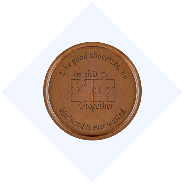 In This Together Chocolate Medallions - Box of 3