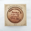 Noteworthy Chocolates Greetings Join Us Personalized Chocolate Medallions - Box of 3