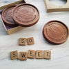 Love You S'more Personalized Chocolate Medallions - Box of 3