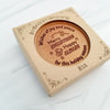 Merry Everything Personalized Chocolate Medallions - Box of 3