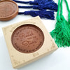 Noteworthy Chocolates Greetings Reach for the Stars Personalized Chocolate Medallions - Box of 3 Personalized custom