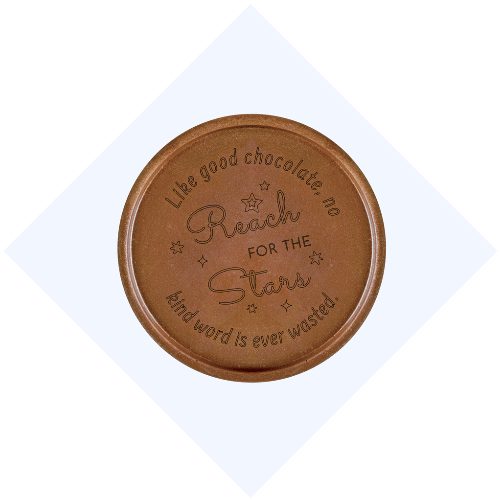 Reach for the Stars Chocolate Medallions - Box of 20