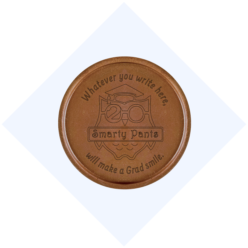 Smarty Pants Chocolate Medallions - Box of 20
