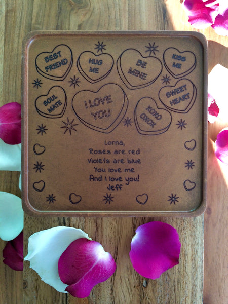 Sweet Heart Chocolate Card